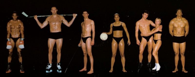 young musculine looking people