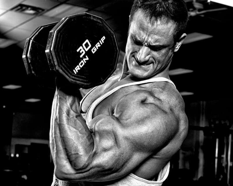 biceps squeeze