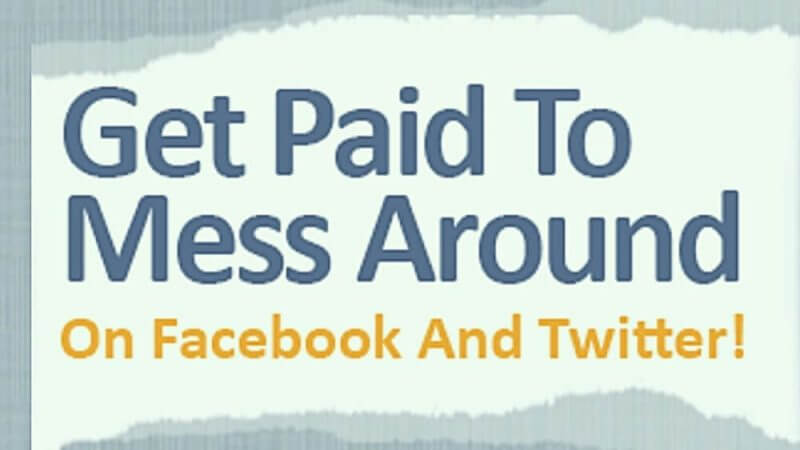 get paid on facebooook and twitter