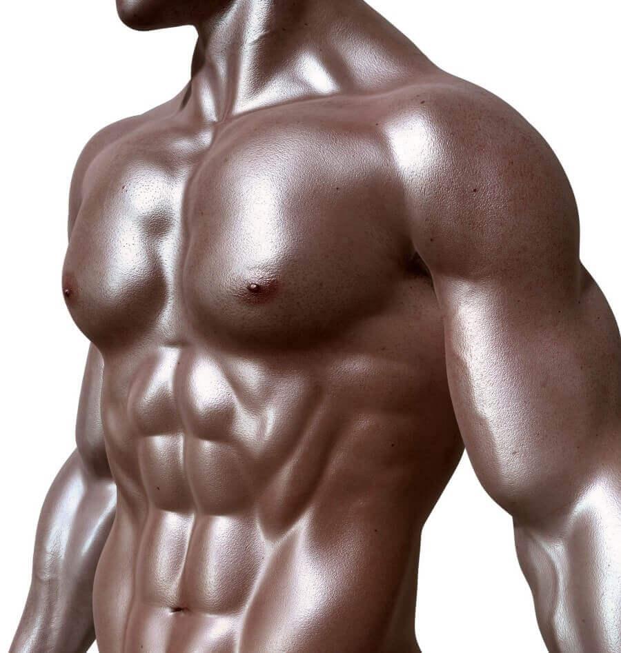 masculine man's body