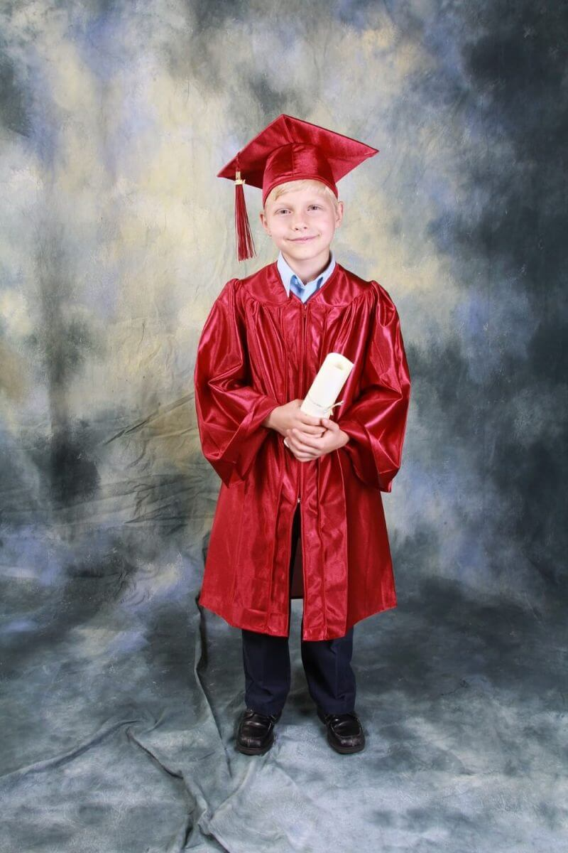 young graduated boy