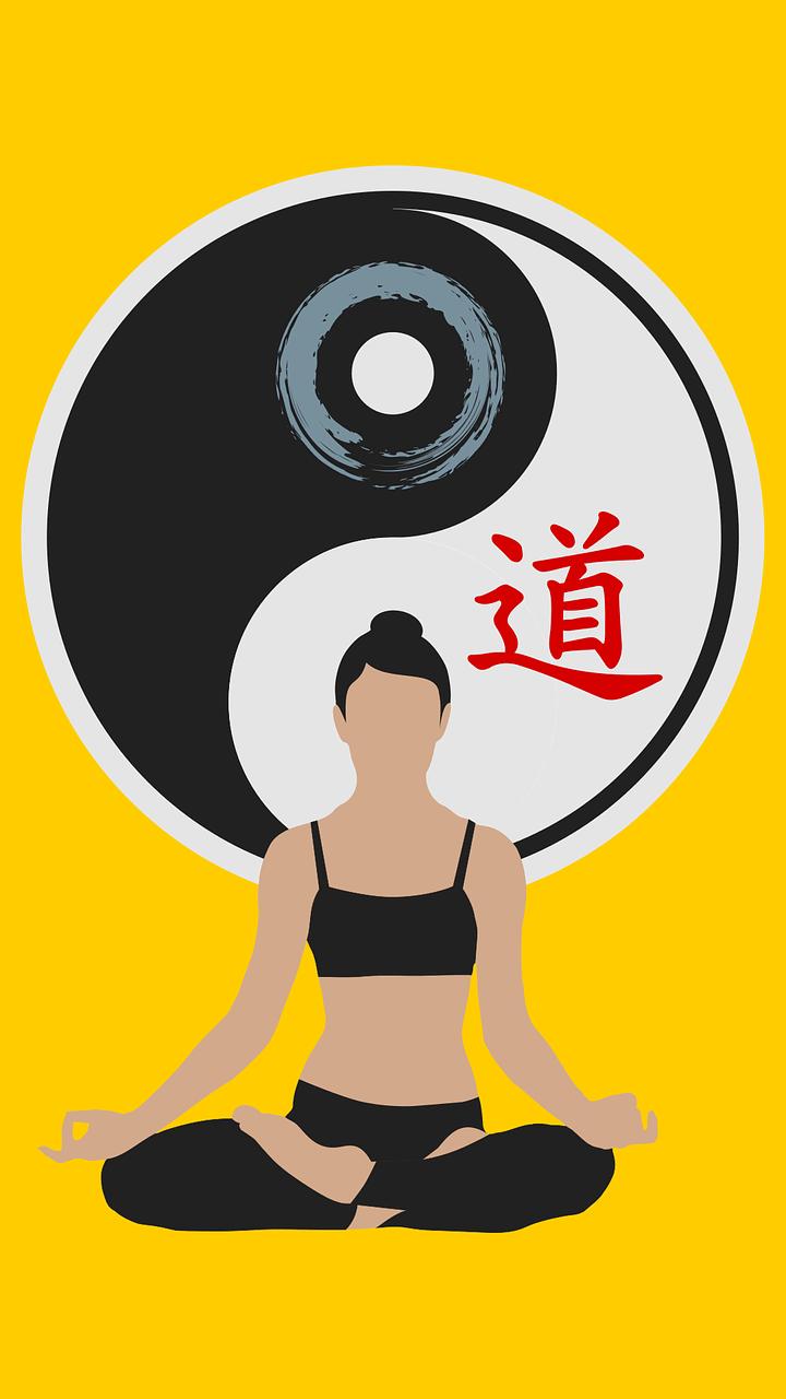 a karate student