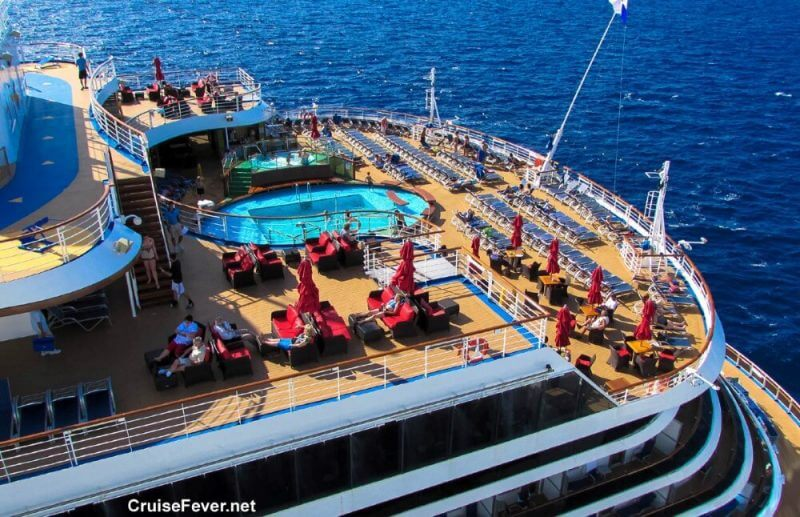 people in a cruise