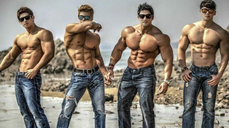 musculine men