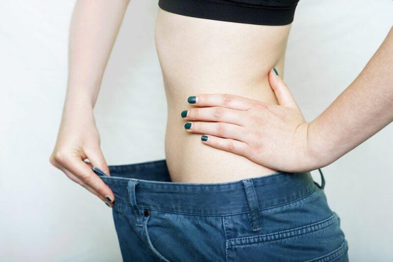 slim  stomach