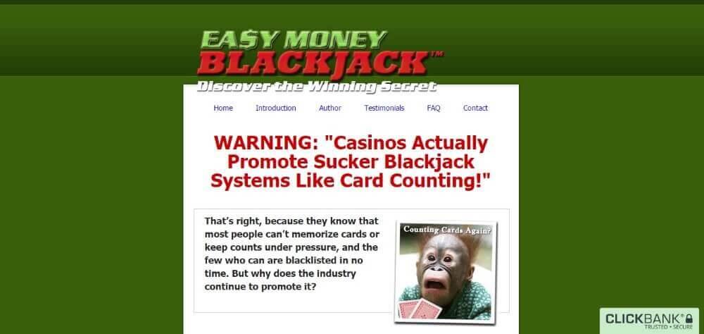 easy money blackjack review