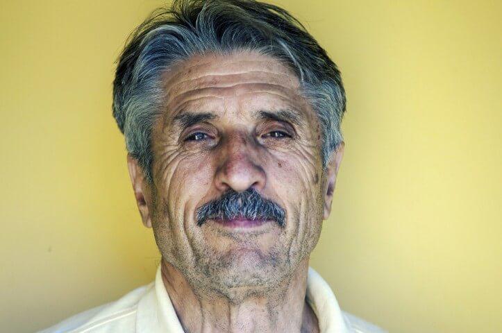 The Rebuild Hair Program old man smiling