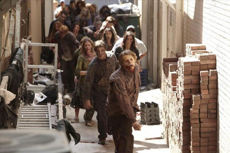 end of world and zombies