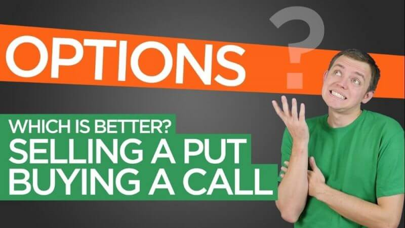 better options whe buying a call and selling a put