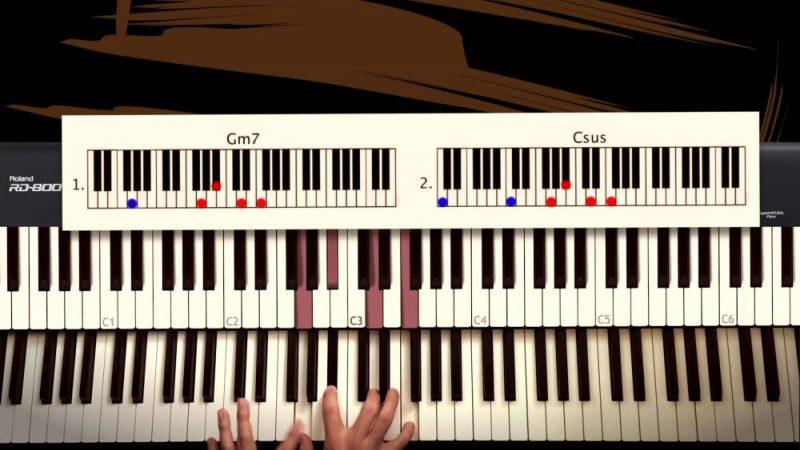 a rocket piano