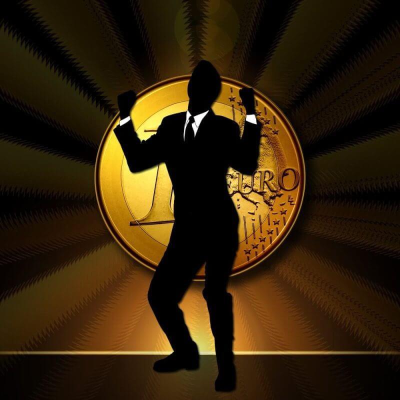 a man dancing