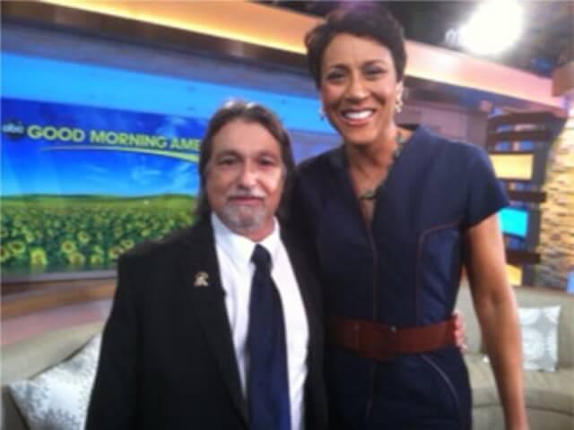 Richard Lustig the creator of lotto annihilator at the show Good Morning America