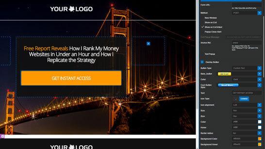 ProfitBuilder landing page