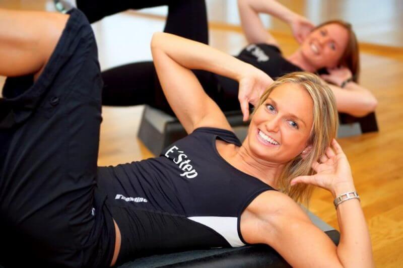 women doing workouts