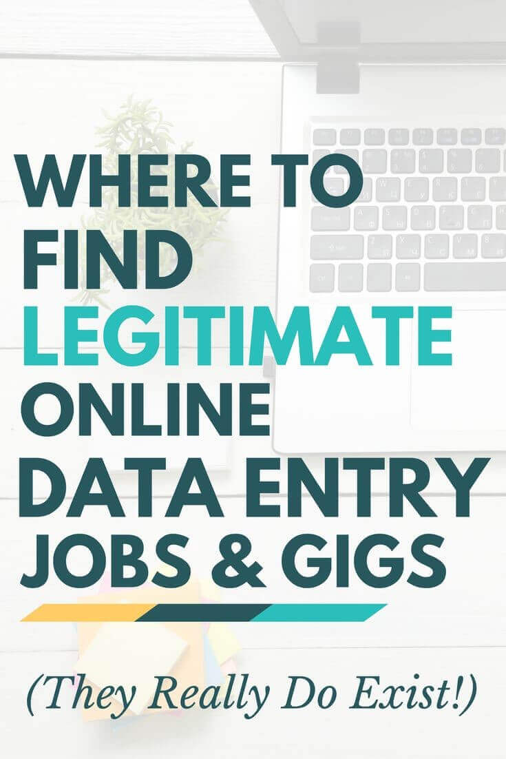 where to find legitimate online data entry jobs and gigs