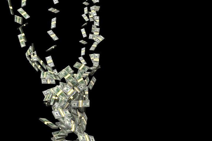Lotto Profits money tornado