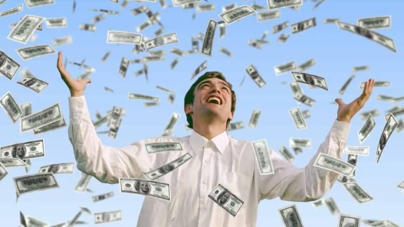 money receiving money