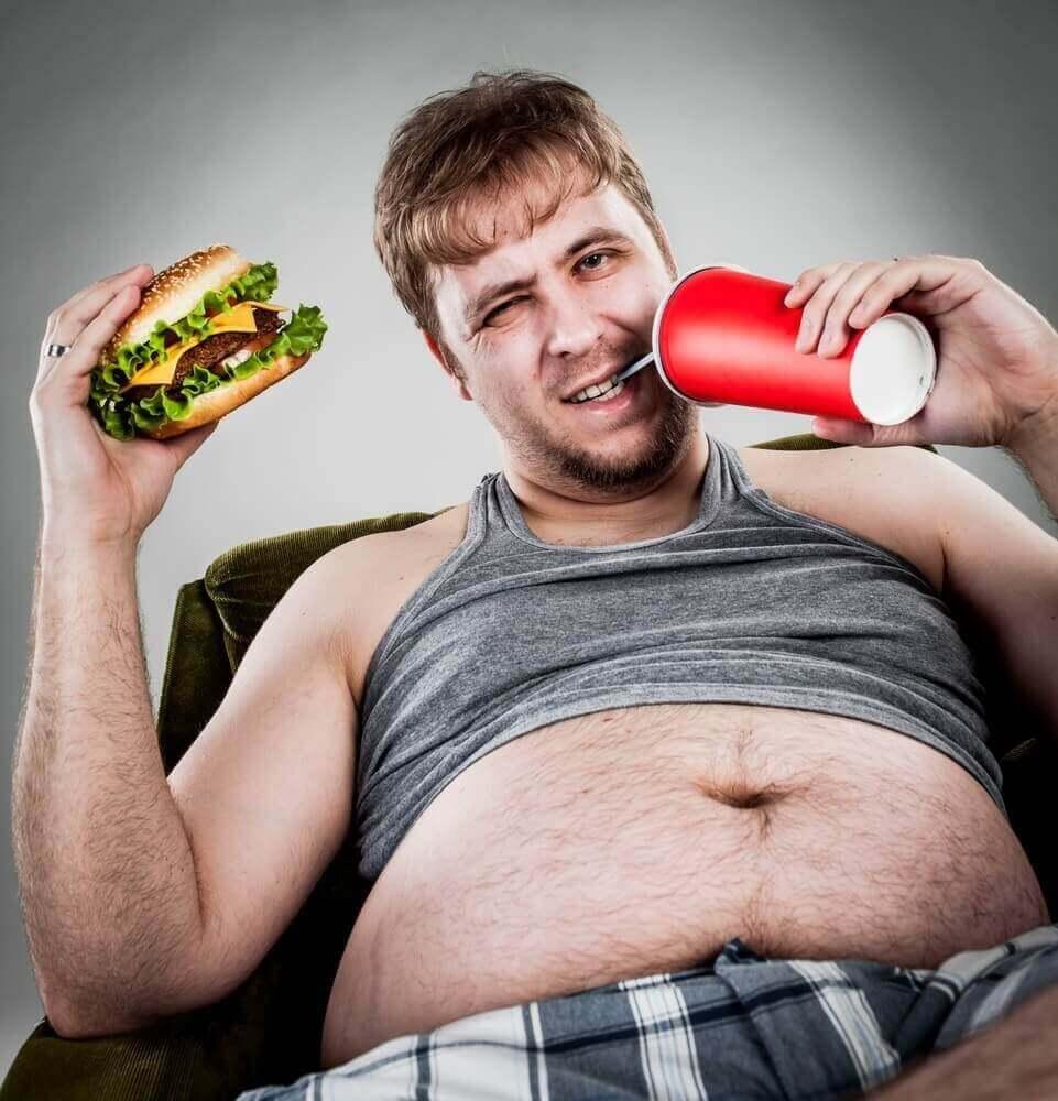 fat-man-eating-hamburger