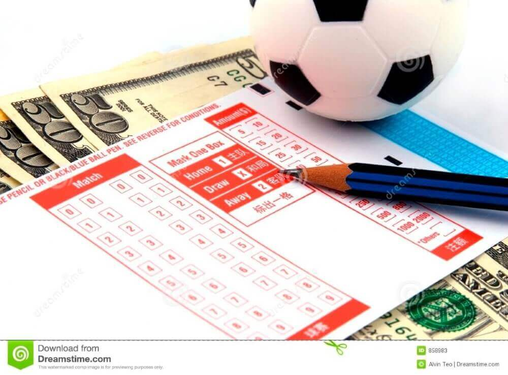 football betting slip