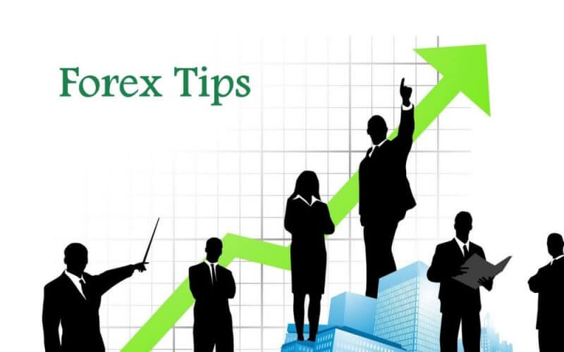 conceptional view of forex trading