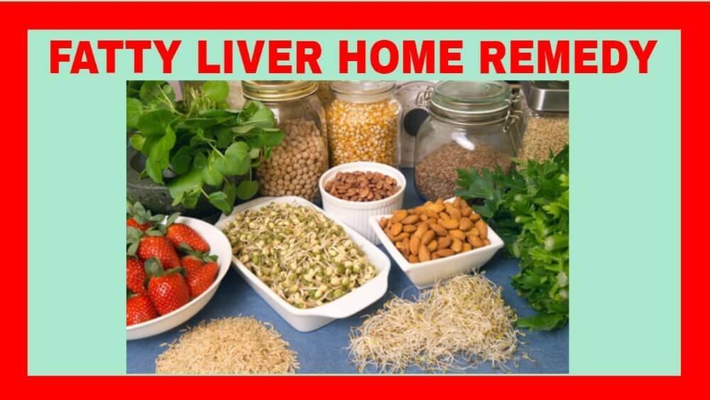 fatty liver home remedy