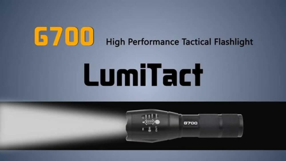 G700 Tactical Flashlight  In Depth Review