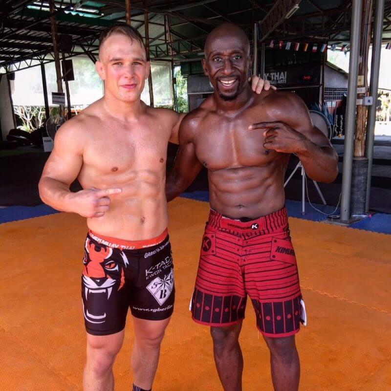 two musculine men