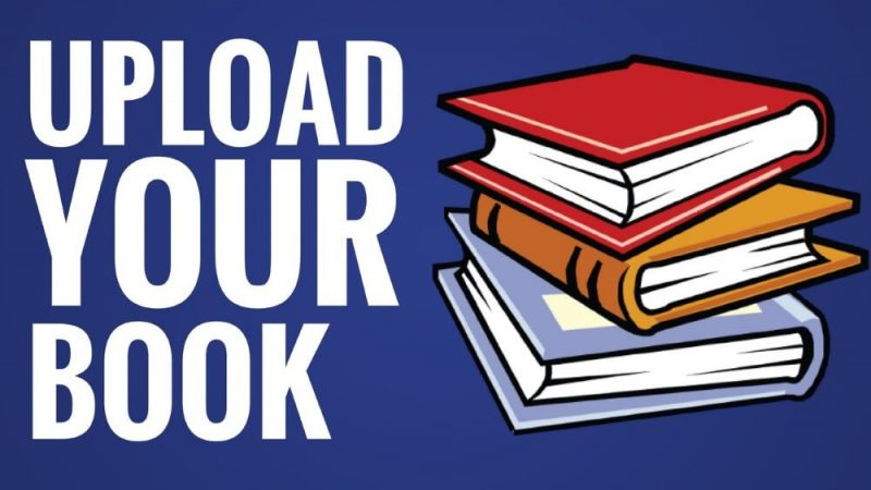 upload your book