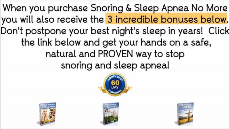 explaination of what is snoring and sleep apnea no more