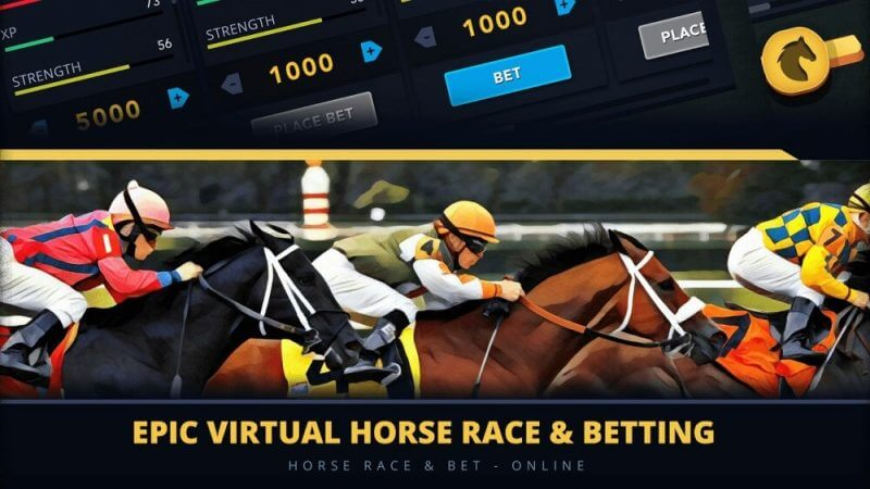 horse race and betting