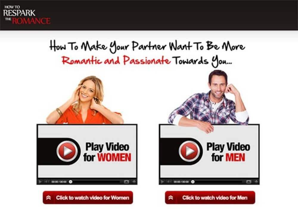 how to respark the romance review