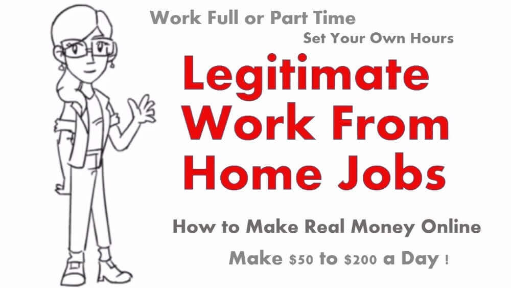 legitimate work from home jobs review and other writings