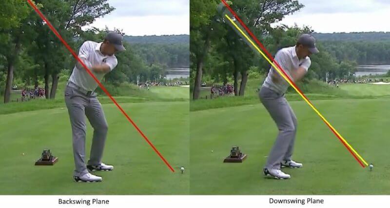 man doing a golf swing