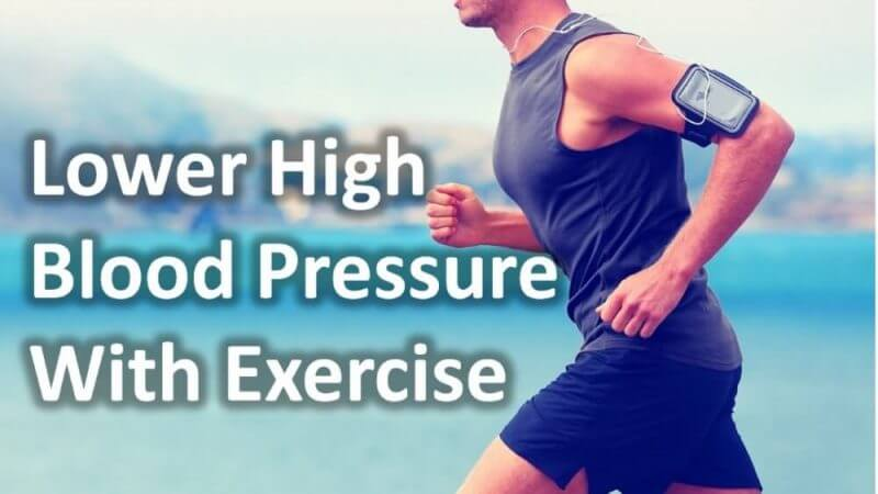 lower high blood pressure with exercises