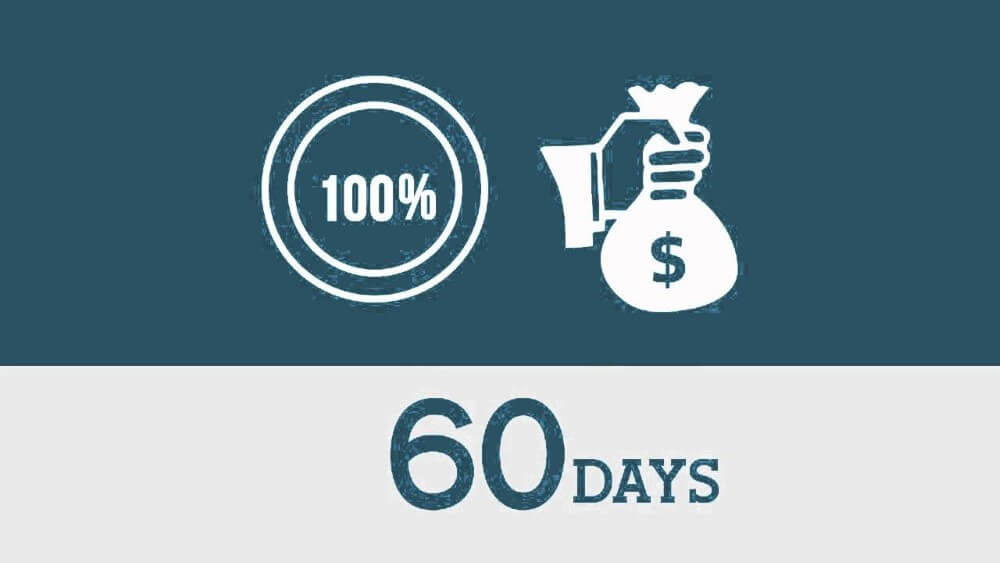100% in 60days