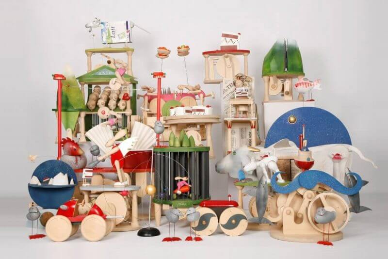 toys made out of woods