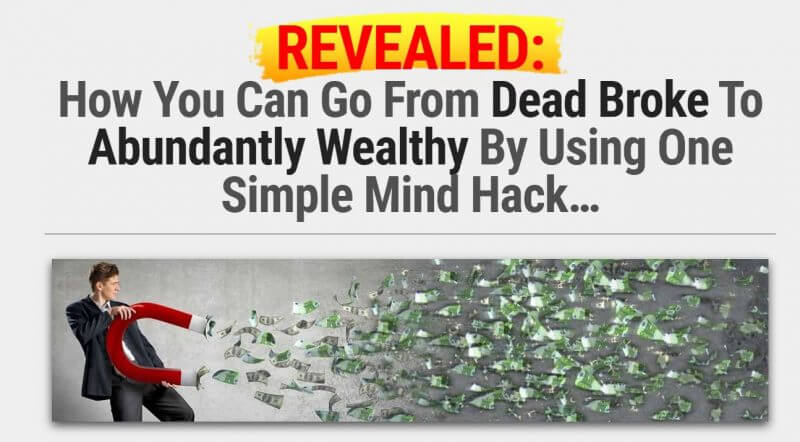 Money magnet attracting money