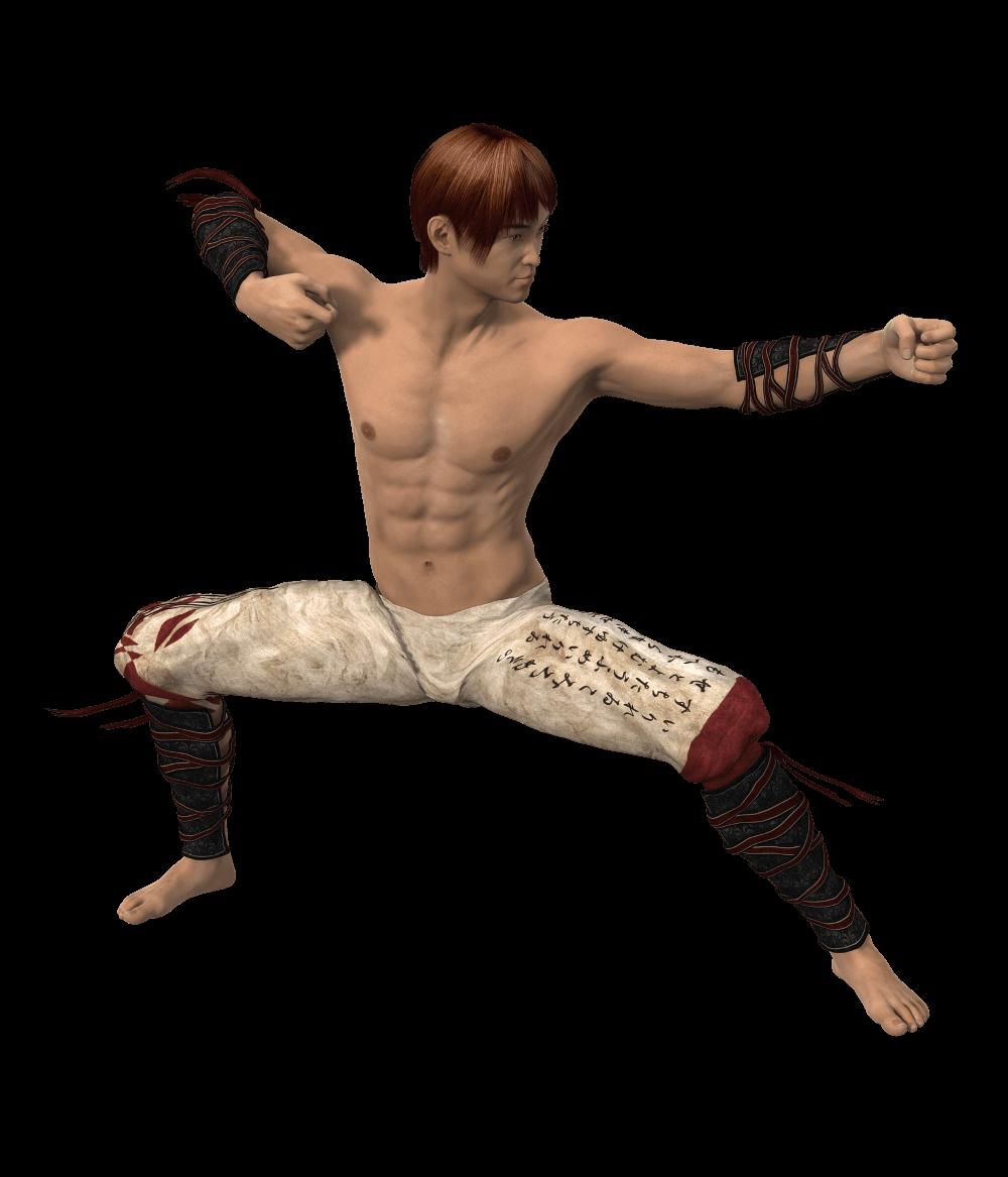 a martial artist