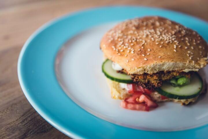 High Carb Fat Loss hamburger