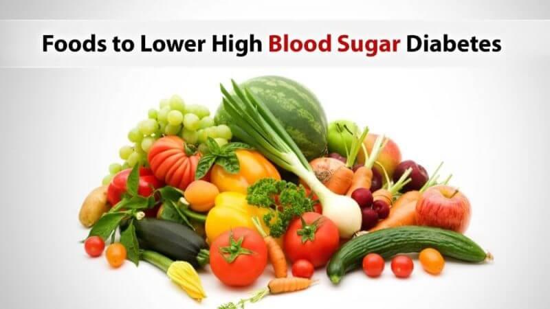 foods to lower high blood sugar diabetes