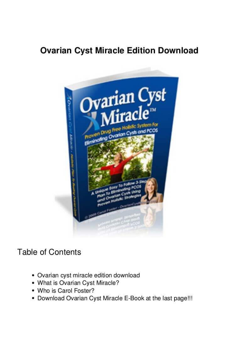 ovarian cyst review