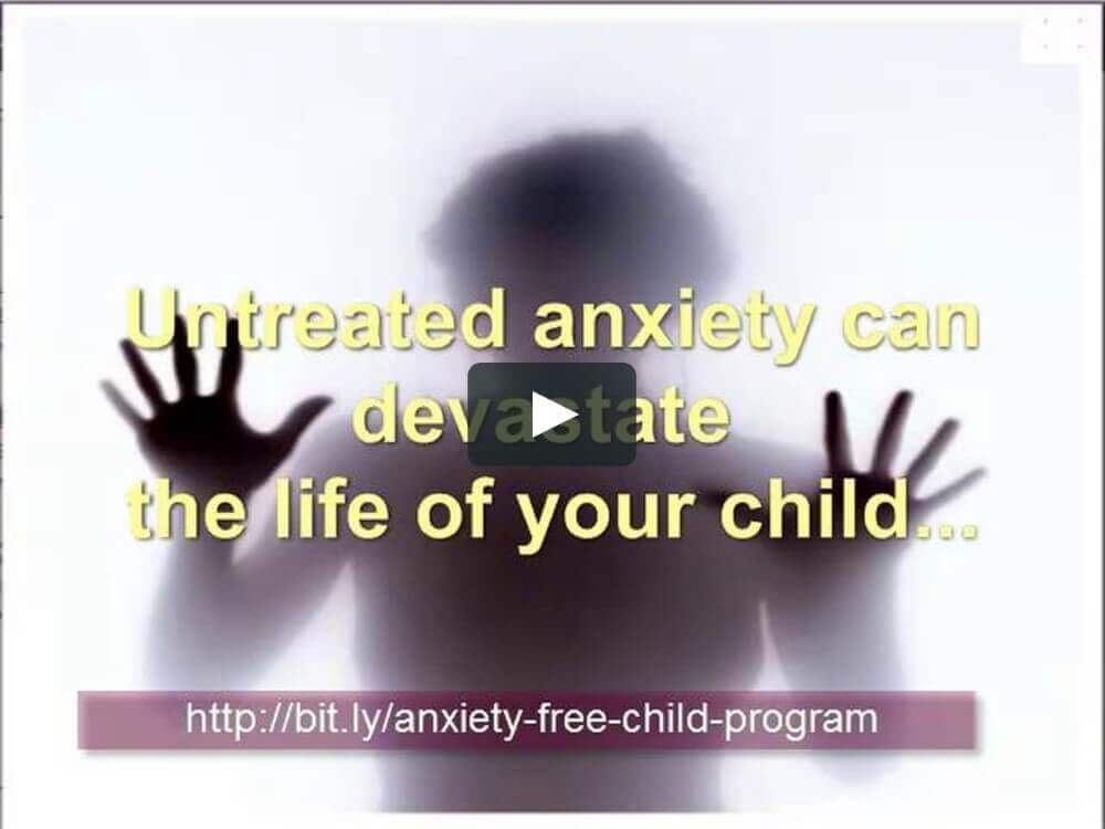 anxiety free-child program
