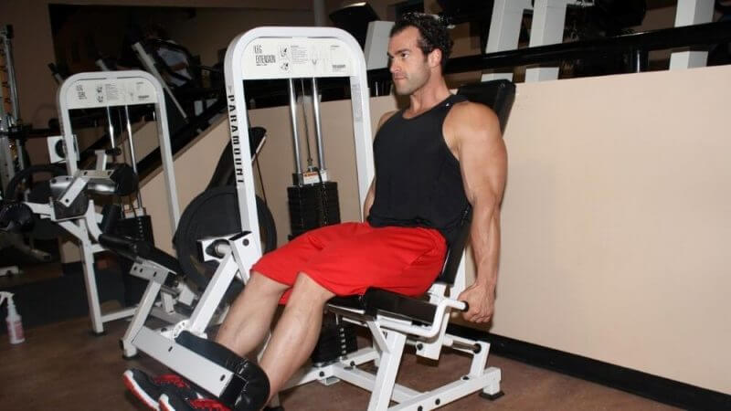 musculine man training