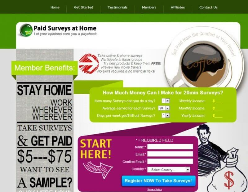 Paid Surveys At Home Review - Does It Work?