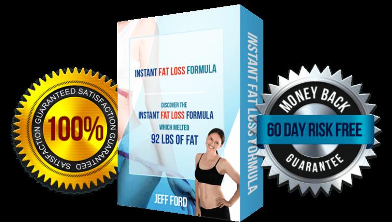 Instant Fat Loss Formula cover