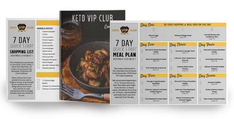 Keto VIP Club cover
