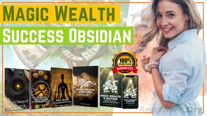 Magic Wealth & Success Obsidian Get Rich Now