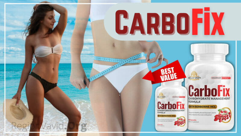 CarboFix Supplement Natural Weight Loss