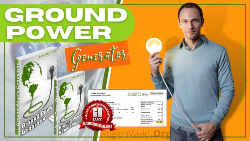 Ground Power Generator Save On Your Bill Big