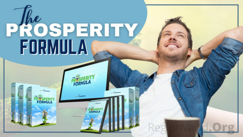 My Shocking The Prosperity Formula Get It Now